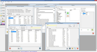 Physical properties estimation software that uses two powerful databases, both databases include over 400 fluids (including 55 common refrigerants). The software also include humid air properties and has the ability to estimate mixture properties