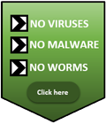 Virus free software