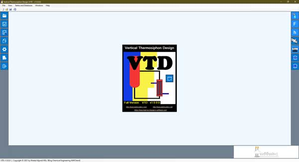 vertical thermosiphon design software