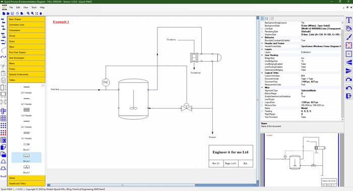 process and instrumentation diagram software